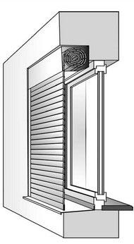 Комбинированный коробом внутрь
