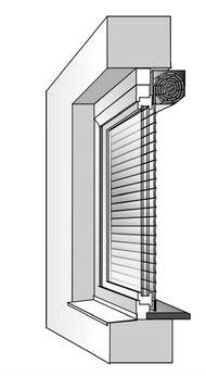 Встроенный внутренний монтаж